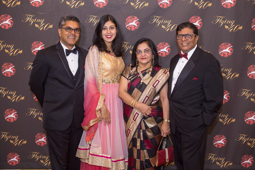 Left to Right: Akshay Shah, Vice President of Marketing; Shweta Shah, Marketing Director; Jaya Shah, Executive and Co-Founder; Arvin Shah, Executive and Co-Founder.