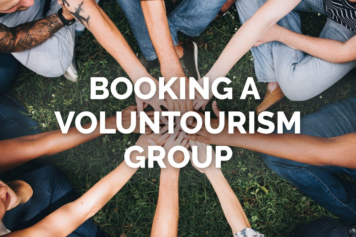Book Voluntourism Groups with Sky Bird