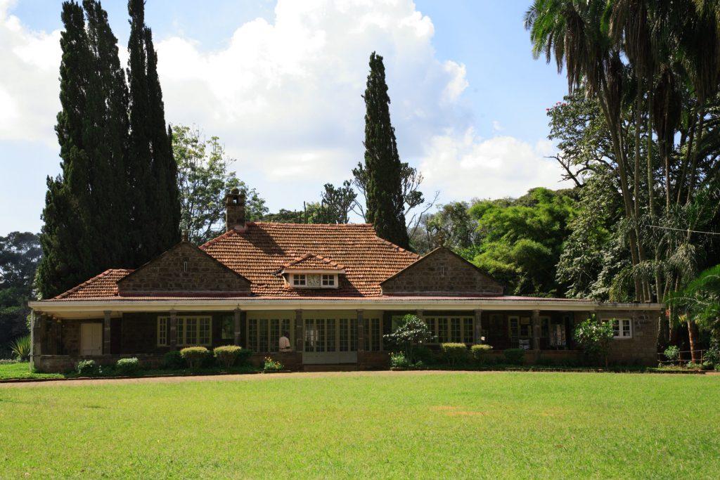 the karen blixen museum just outside Nairobi, Kenya