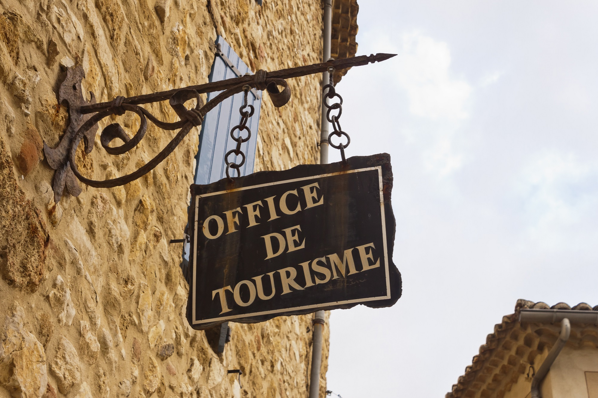 tourism office entry sign