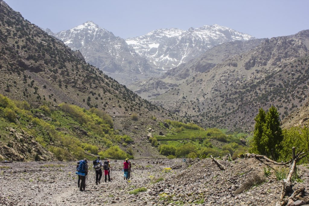 Hikers-at-Toubkal-National-Park-Morocco