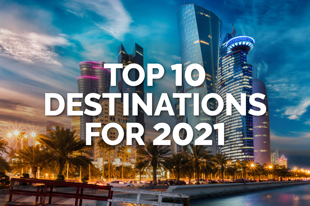Top Travel Destinations for 2021