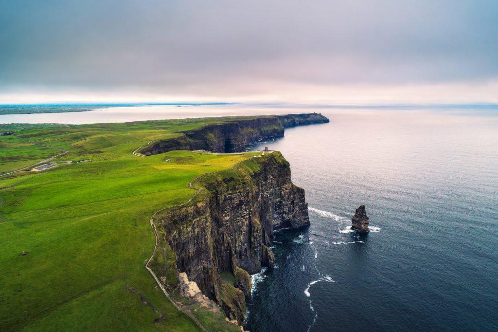 Bluffs in Ireland