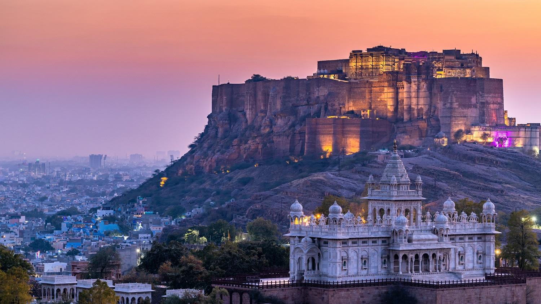 Jaswant Thada and Mehrangarh Fort-Rajasthan