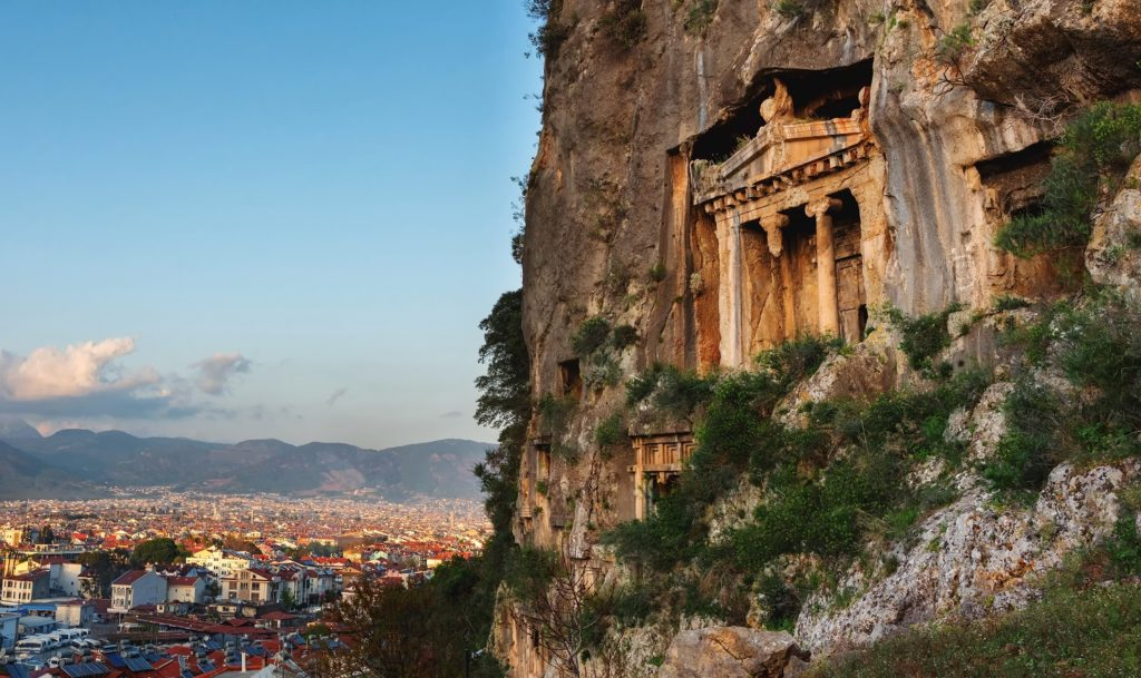Tomb of Amyntas-Turkey