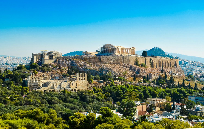 Parthenon acropolis-Greece