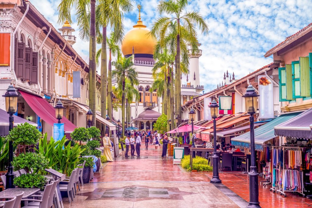 streets pf Haji Lane-singapore