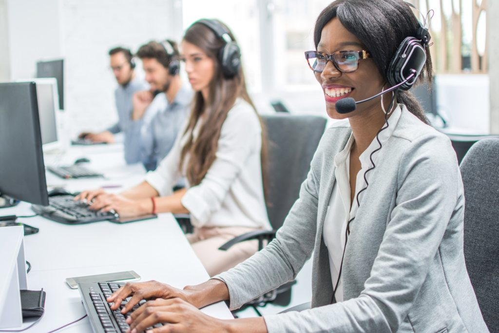 customer service agents here to help-stay competitive